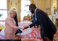 Linus Idahosa & Queen Elizabeth 11 of England